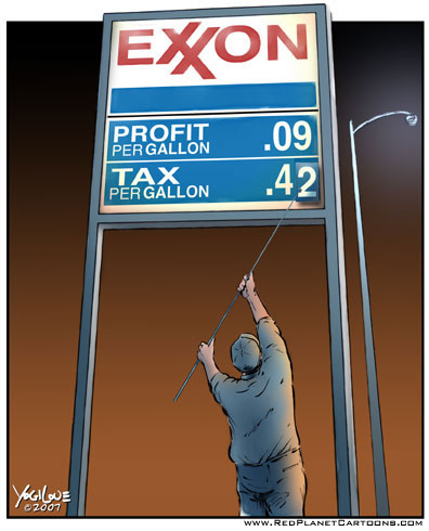 Uncle Sam Makes A Lot More Than Exxon from Oil...and the Media Won't Tell You..does that make the media liars by ommission?