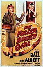 "Lucille Ball Starred As ""The Fuller Brush Girl"""