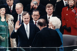 George H. W Bush...1000 Points of Light...But No Firsts