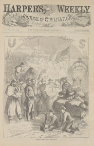 Harper's Weekly Santa Jan 3, 1863