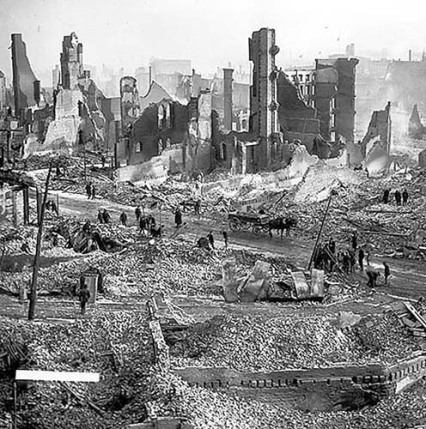 Baltimore Fire-Destruction Led to Rebirth