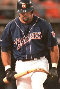 I always wondered how Caminiti could break those bats..roid rage?