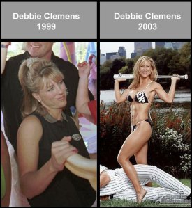 Clemens Wife Before & After Steroids?
