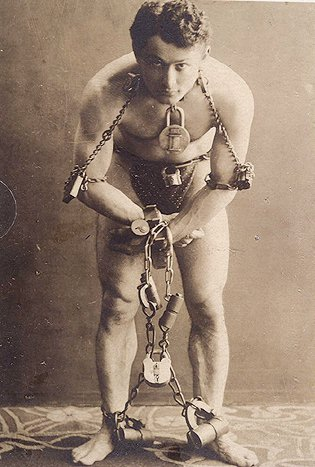 Houdini Knew What To Do When It Was All Tied Up