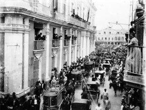 Funeral in Havana for 260 Killed