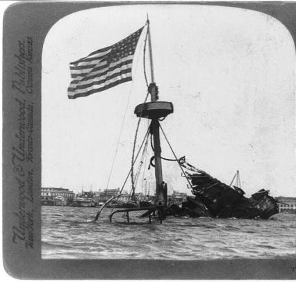 The USS Maine At the Bottom of Havana Harbor...but How did it get there?