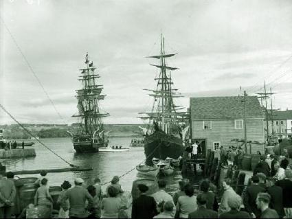 Filming of Moby Dick