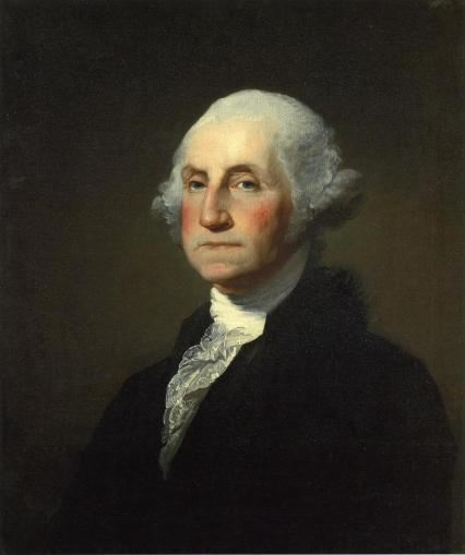 Gilbert Stuart's Familiar Painting of President Washington