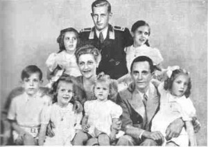 Goebbels Family...Not Exactly Ozzie and Harriet