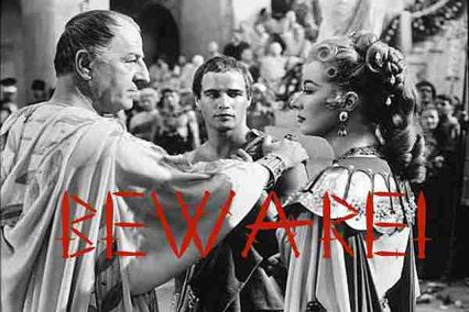 Caesar Should Have Heeded the Soothsayers...with Marlon Brando Looking On