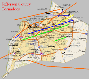 23 Jefferson County Tornadoes