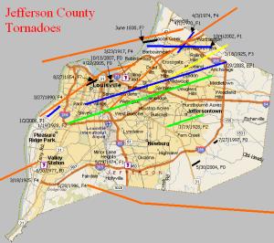 23 Jefferson County Tornadoes