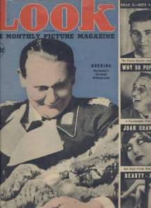 Looks Like Herman Goerring on cover of First Look Magazine Feb 1937