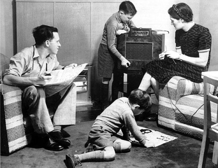 Let's All Gather Around the Radio!