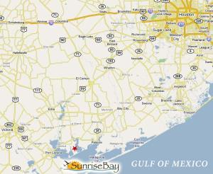 Matagorda SE of Houston
