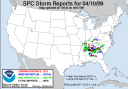 Storm Reports Last Friday-Tornado total increased to at least 79