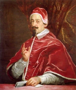 Fabio Chigi as the Pope