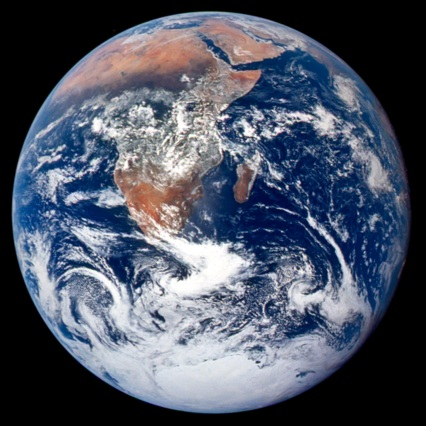 Is The Earth Any Different Now Then When the Crew of Apollo 17 Took This Photo?