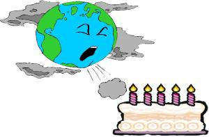 Happy Birthday Earth?