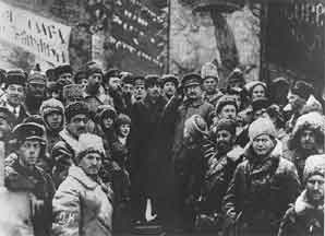 Lenin Arrives In Russia April 16 1917