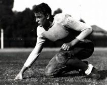 Marion Morrison on the USC gridiron