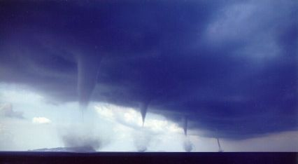 Tornadoes Are a Global Phenomena But Happen Most Often in the USA...These are From Albania!