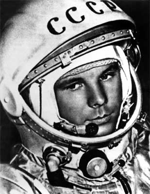 First Man In Space 48 years ago