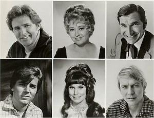 Brown (top left) and Leonard (top right) Star Trek Veterans; Blondell (top center) Former Hollywood Siren
