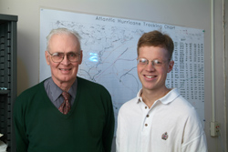 Dr. William Gray and Dr. Phillip J Klotzbach