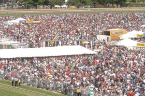 Preakness Infield Looked Nothing Like This in '09