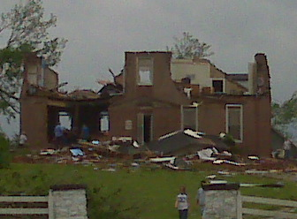 Tornado Damage From Saturday
