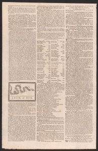Philadelphia Gazette May 9 1754