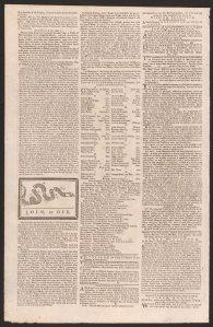 Philadelphia Gazette May 9 1754