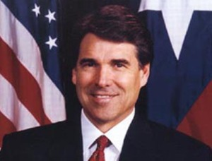 TX Gov. Rick Perry Competes on Global Scale