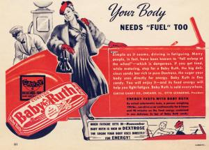 Baby Ruth Sold As Natural Energy