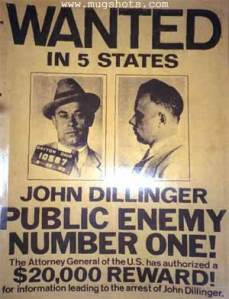 dillinger-wanted