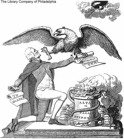 In Jefferson's Day, Some Thought He Wanted to Burn the Constitution at the alter of Satan!