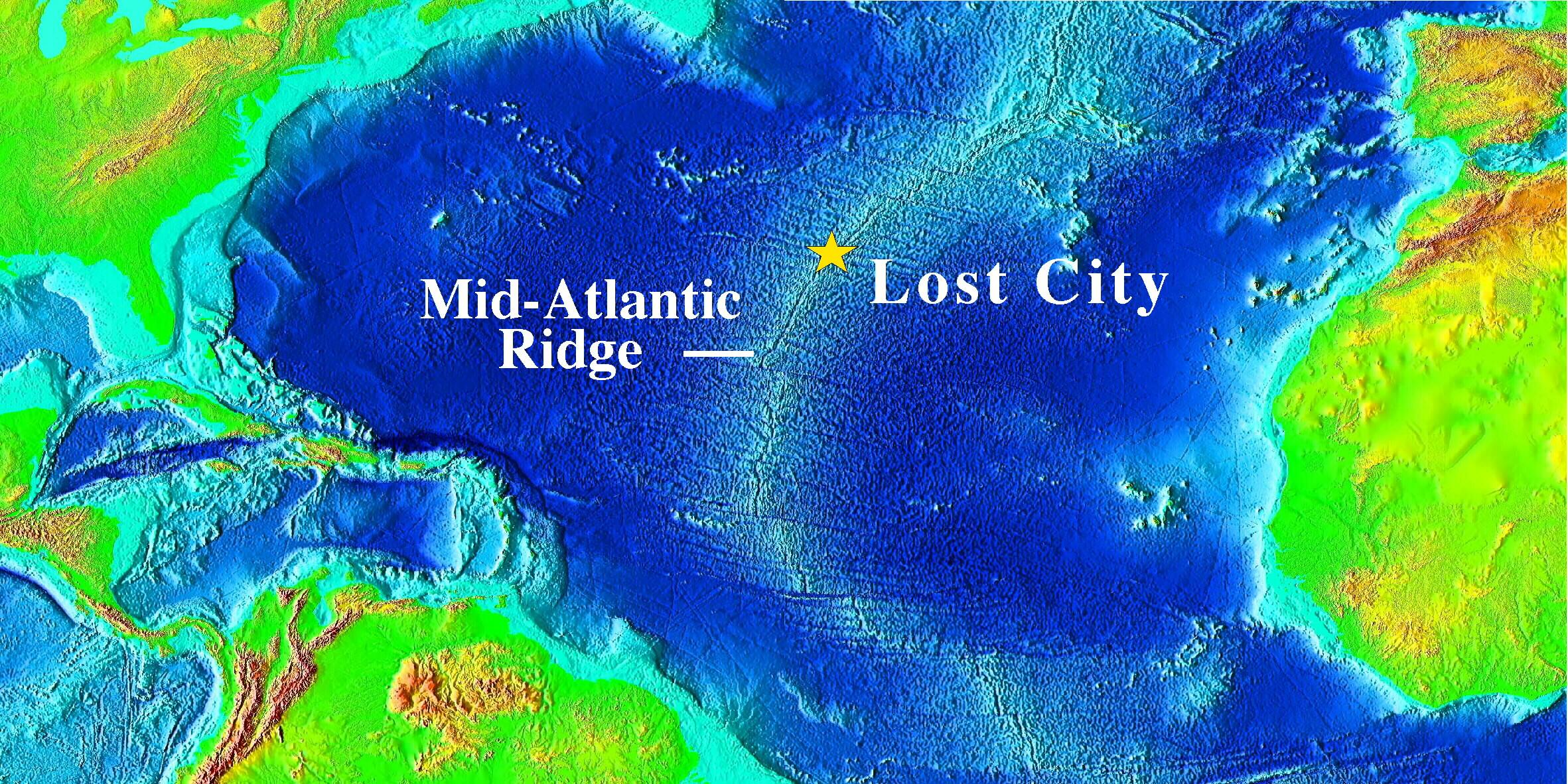 lost city ridge