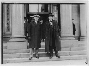 Wilson and Bryan Jan 1913