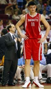 Yao's towering career in Jeopardy?