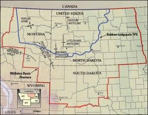 Bakken Map