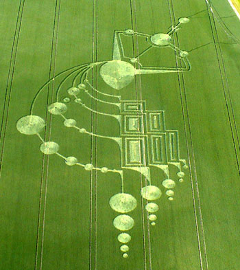 Recent Crop Circle in England