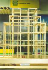 Model of Empire State Bldg Superstructure