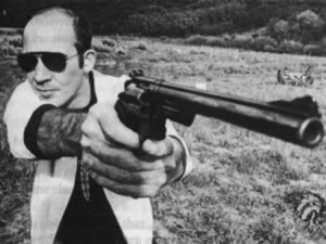 """Gonzo"" Journalist Hunter S. Thompson"