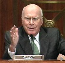 Senate Judiciary Chairman Sen. Pat Leahy