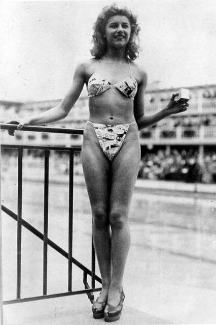 1st Bikini Would Turn Heads Even Today