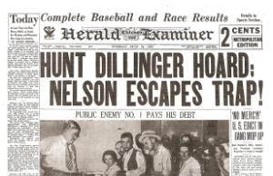 Dillinger Death Made Headlines Nationwide
