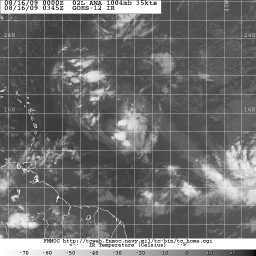 Ana Satellite 0345Z 08.16.09