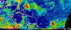Atlantic View 20:45Z 08.28.09 Invest 94L Not Quite as Impressive as Prior Day