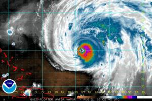 Bill Water Vapor Imagery